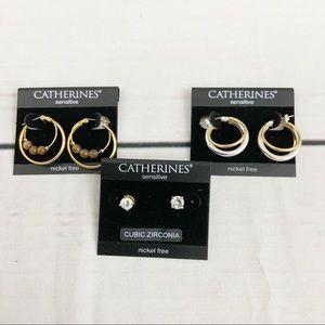 Earrings by Catherines